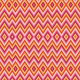 Modèle de zigzag sans couture abstrait Images stock