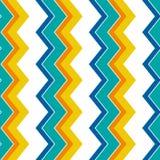 Modèle de zigzag sans couture géométrique fond de modèle de chevron, papier d'emballage, modèle de tissu, conception de textile C illustration stock