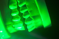 Modèle dentaire de mâchoire de dents Images libres de droits