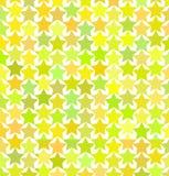 Modèle des étoiles multicolores Photos stock