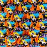 Modèle des animaux câlins de pirate Image stock