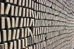 Modèle des briques Image stock