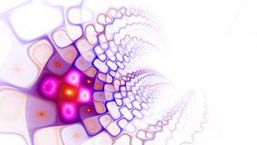 Modèle des cellules World Wide Web Écoulement de plasma Photos stock