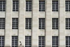 Modèle des fenêtres Photographie stock