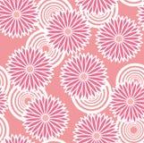 Modèle des fleurs. Image libre de droits