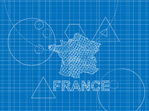 Modèle des Frances Image libre de droits
