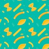 Modèle des pâtes Photo libre de droits