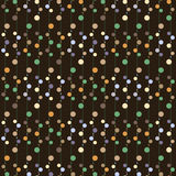 Modèle des perles colorées Photo libre de droits