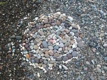 Modèle des pierres Images libres de droits