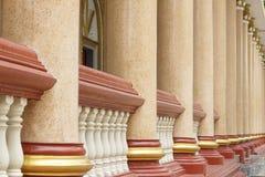Modèle des piliers thaïlandais Photographie stock
