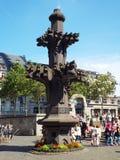 Modèle des spiers de la cathédrale de Cologne Photos libres de droits