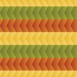 Modèle des zigzags colorés Photos libres de droits