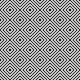 Modèle diagonal abstrait sans couture de vecteur noir et blanc Papier peint abstrait de fond Illustration de vecteur illustration de vecteur