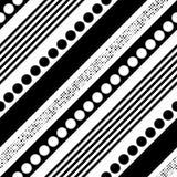 Modèle diagonal sans couture de rayure Image stock