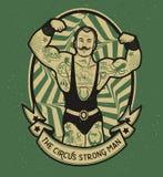 Modèle du cirque illustration stock