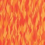 Modèle du feu Images stock