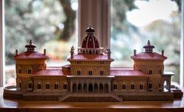 Modèle du palais de Monserrate photo stock