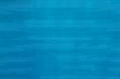 Modèle en aluminium bleu Photos libres de droits