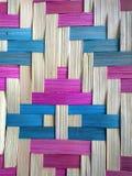 Modèle en bambou Photographie stock libre de droits