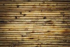 Modèle en bambou de fond de texture photographie stock libre de droits