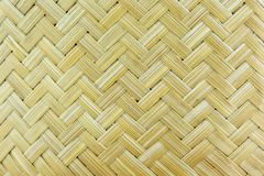 Modèle en bambou de travail manuel photographie stock