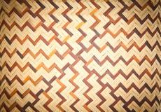 Modèle en bambou tissé sans couture Photo stock
