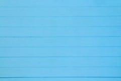 Modèle en bois bleu Image stock