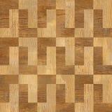 Modèle en bois décoratif - fond sans couture - reproduction continue Photos stock