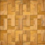 Modèle en bois décoratif - reproduction continue Image libre de droits