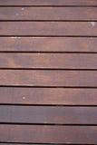 Modèle en bois de Brown photographie stock libre de droits