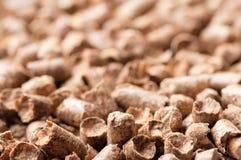 Modèle en bois de fond de granule Image libre de droits
