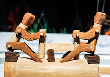 Modèle en bois de jouet Photo stock