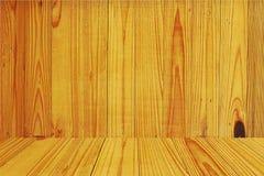 Modèle en bois de plancher de table pour la conception avec le chemin de coupure Image stock