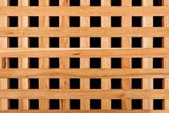 Modèle en bois de texture de trellis impeccable Photographie stock libre de droits