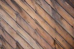Modèle en bois diagonal Images libres de droits