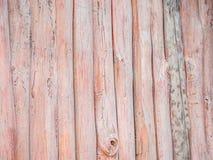 Modèle en bois rouge abstrait de rayures Images libres de droits