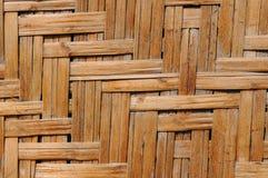 Modèle en bois tressé Photo stock