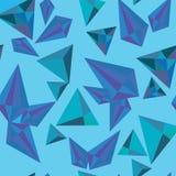 Modèle en cristal Photo stock