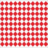 Modèle en cuir en forme de diamant de texture sur le fond rouge blanc Photos stock