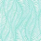 Modèle en feuille de palmier illustration de vecteur