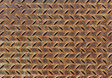 Modèle en métal de plat de diamant Image libre de droits