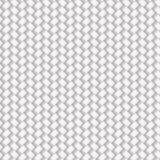 Modèle en osier sans couture blanc Images libres de droits