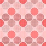 Modèle en pastel sans couture de textile avec des points illustration libre de droits