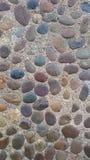 Modèle en pierre coloré Photos libres de droits