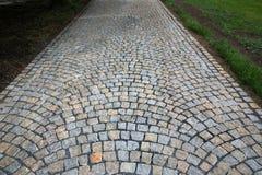 Modèle en pierre de trottoir Photographie stock