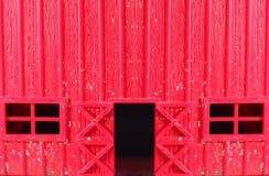 Modèle en plastique de panneau de mur de grange Images stock