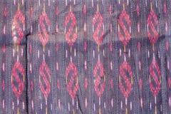 Modèle en soie thaïlandais, style de textile de la Thaïlande Images libres de droits