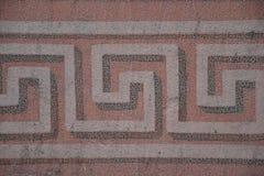 Modèle en spirale carré Image stock