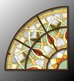 Modèle en verre souillé Image libre de droits