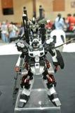 Modèle et jouets mobiles de nombre d'actions de Gundam de costume images stock